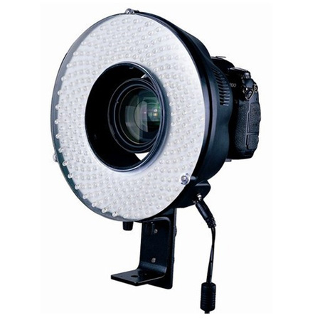 New 240 LED Continuous Video Light Camera Ring Sutdio Video Light AC / DC YS001