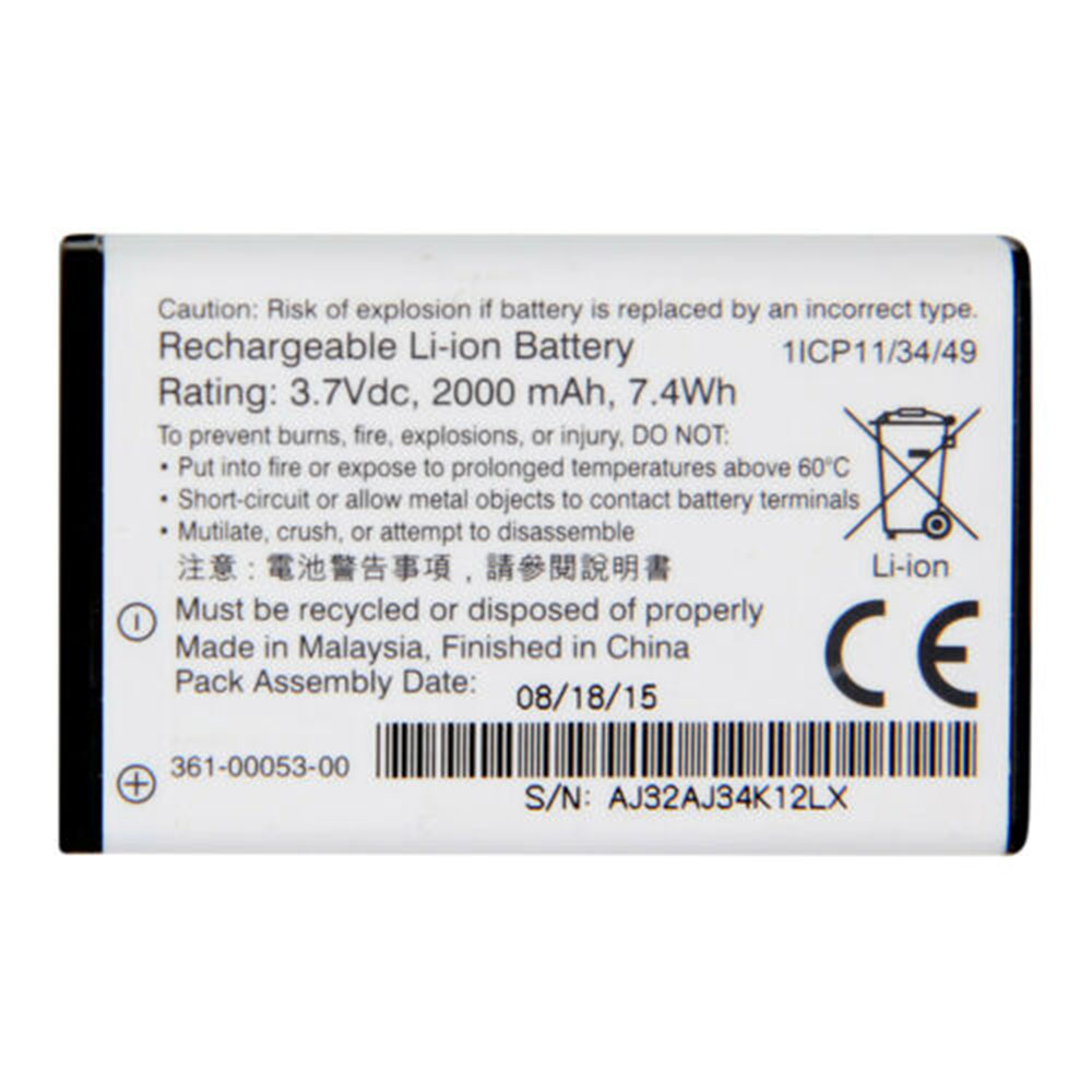 361-00053-00 Batterie ordinateur portable