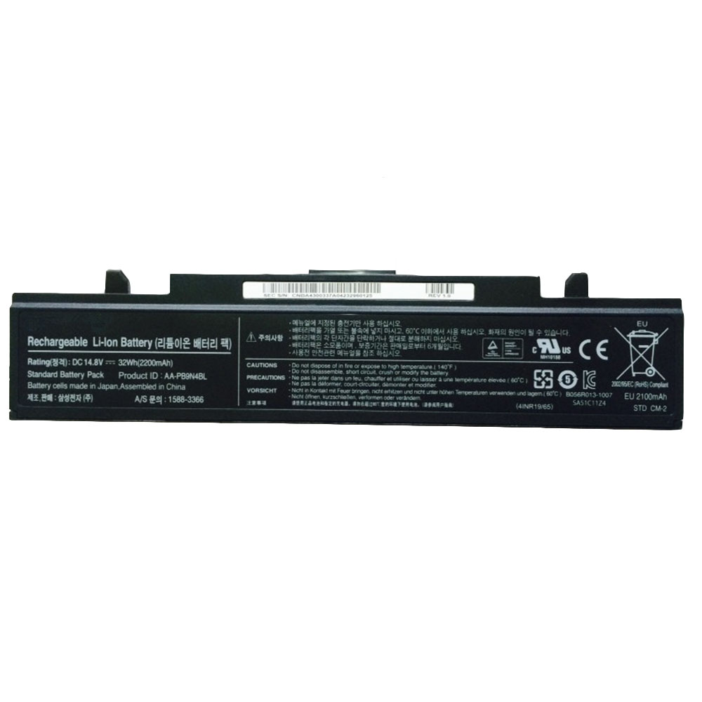AA-PB9N4BL Batterie ordinateur portable
