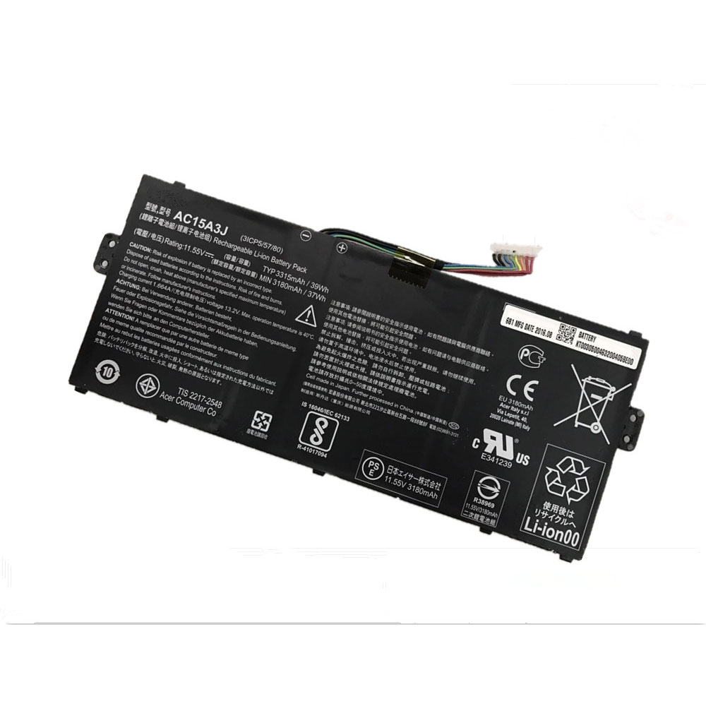 AC15A3J pc batterie