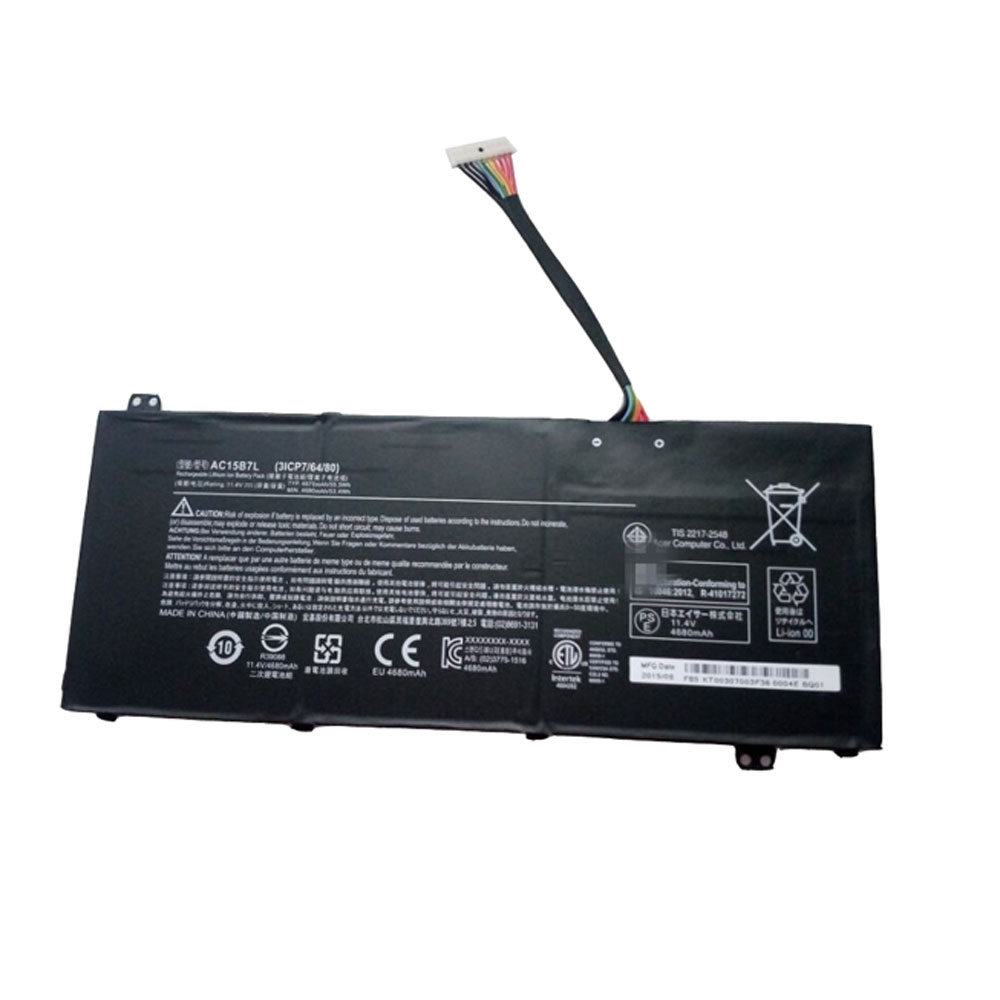 AC15B7L Batterie ordinateur portable