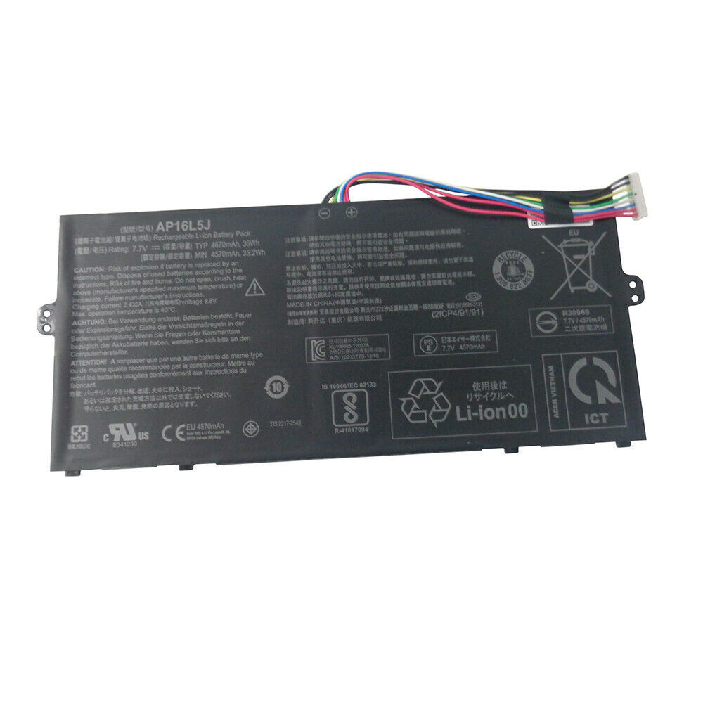 AP16L5J Batterie ordinateur portable