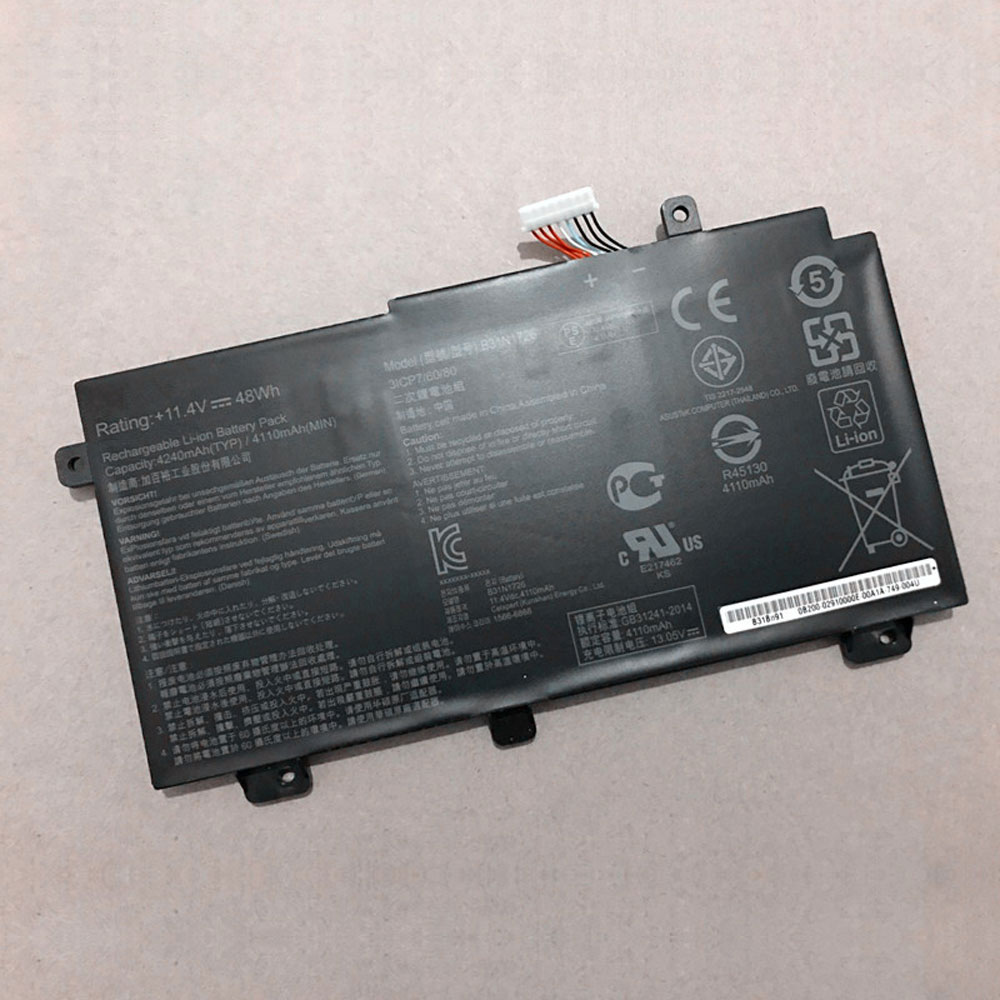 B31N1726 Batterie ordinateur portable
