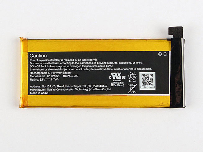 C11P1322 Batterie ordinateur portable