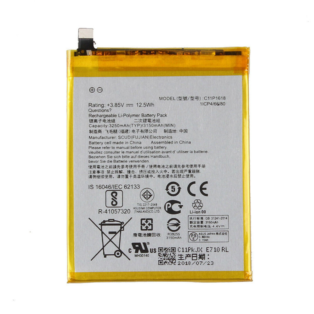C11P1618 Batterie ordinateur portable