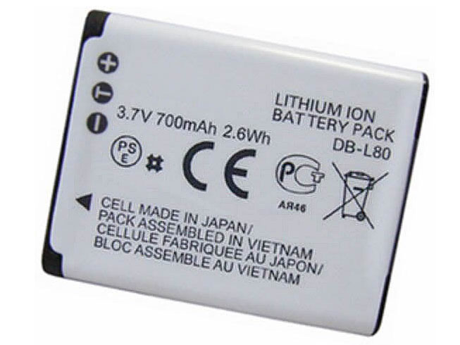 DB-L80 Batterie ordinateur portable
