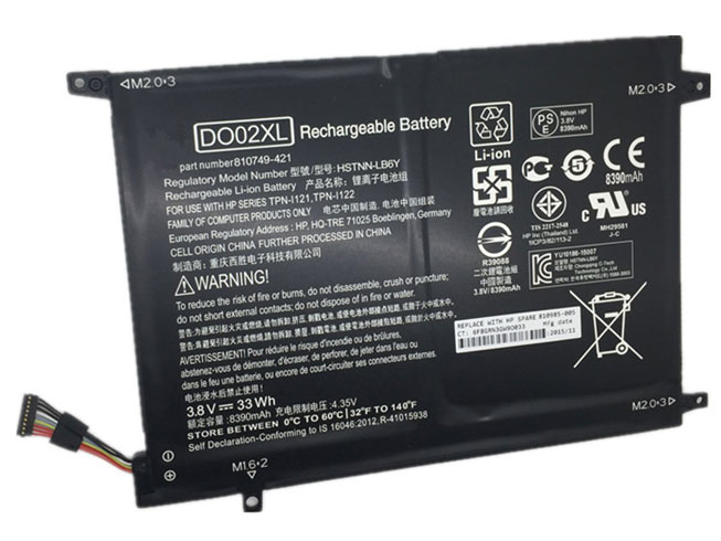 DO02XL Batterie ordinateur portable