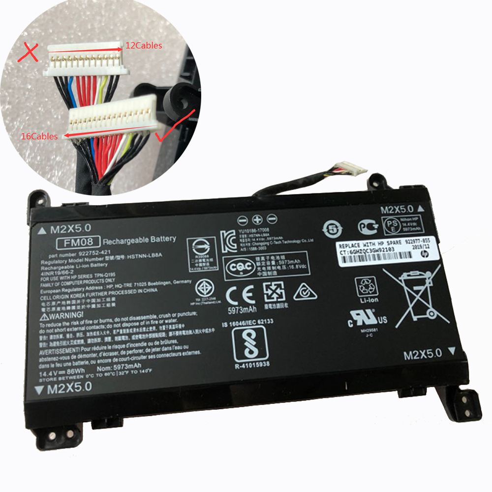 FM08 Batterie ordinateur portable