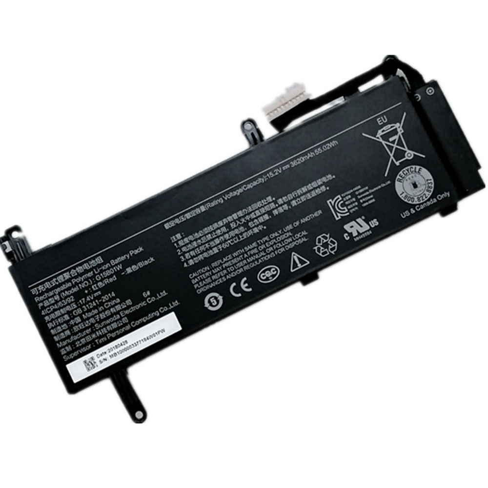 G15B01W Batterie ordinateur portable