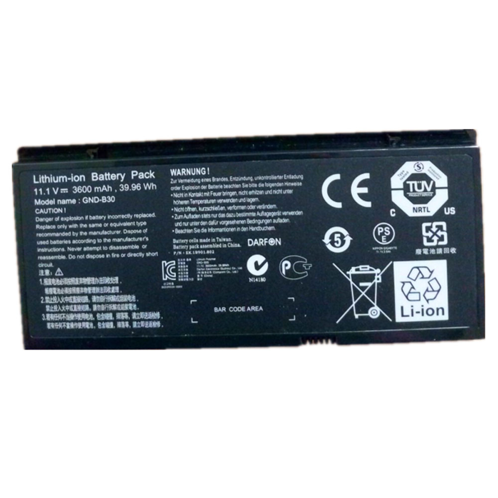 GND-B30 Batterie ordinateur portable