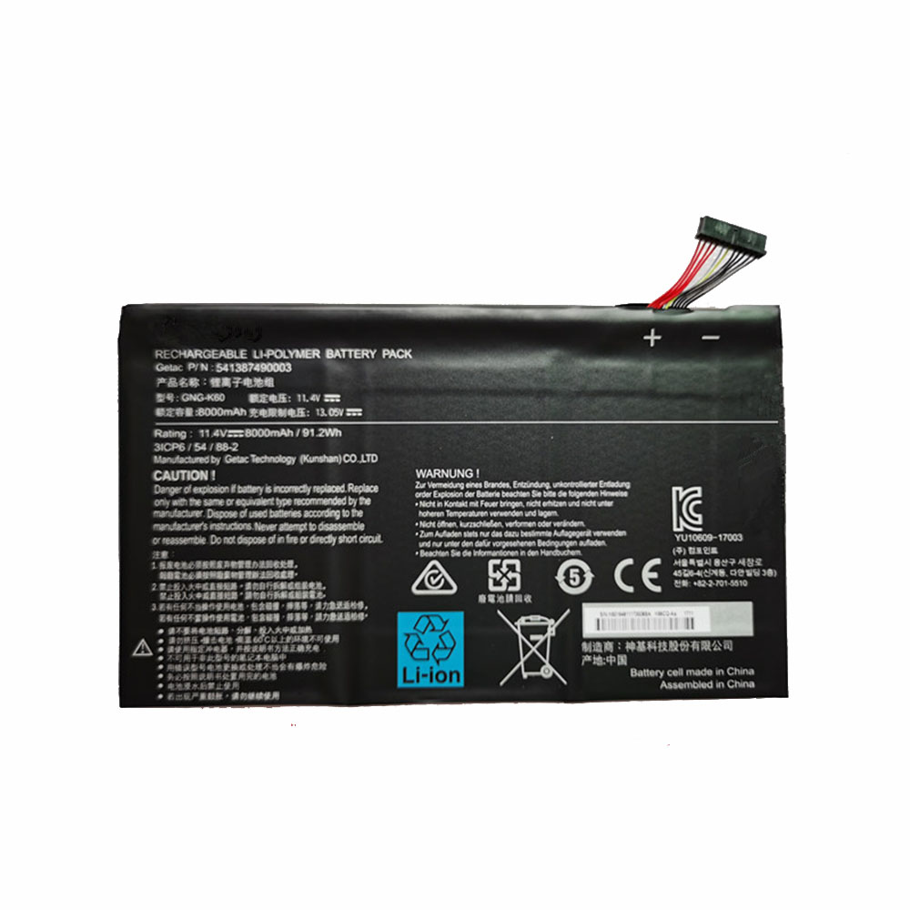 GNG-K60 Batterie ordinateur portable