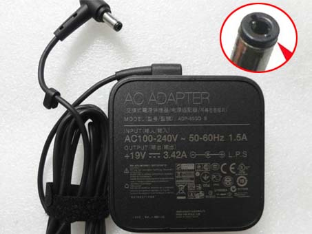 Asus A3 Series 100-240V  50-60Hz (for worldwide use)  19V  3.42A,65W adapter