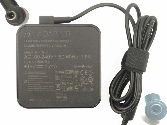 ASUS B53 100-240V 50-60Hz 19V - 4.74A,90W  adapter