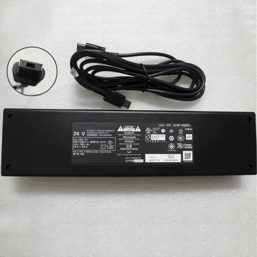 149311714 AC 100V - 240V 2.6A 50-60Hz 24V-9.4A,240W adapter