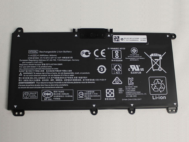 HT03XL pc batterie