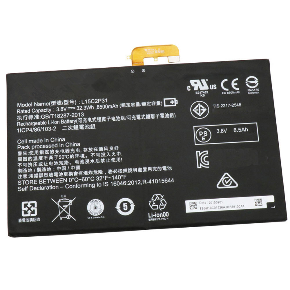 L15C2P31 Batterie ordinateur portable