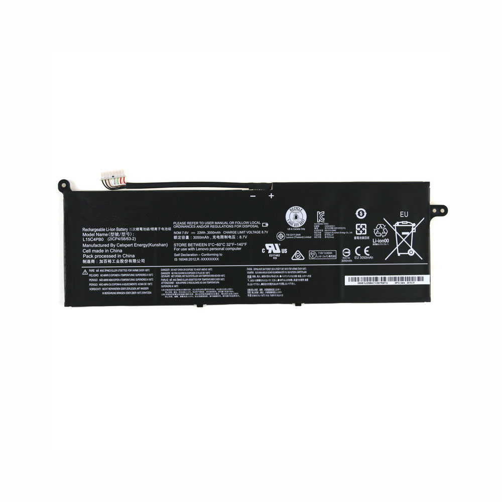 L15C4PB0 Batterie ordinateur portable