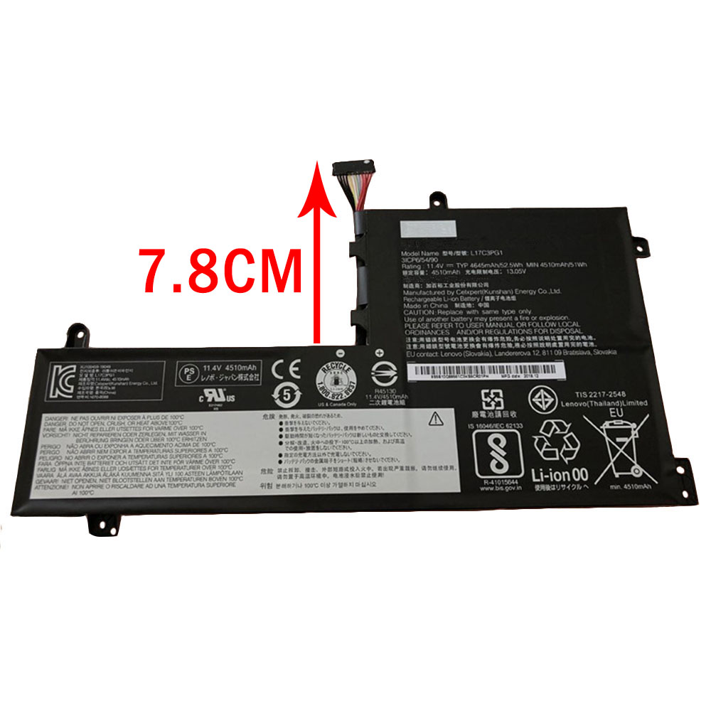 L17M3PG1 pc batterie