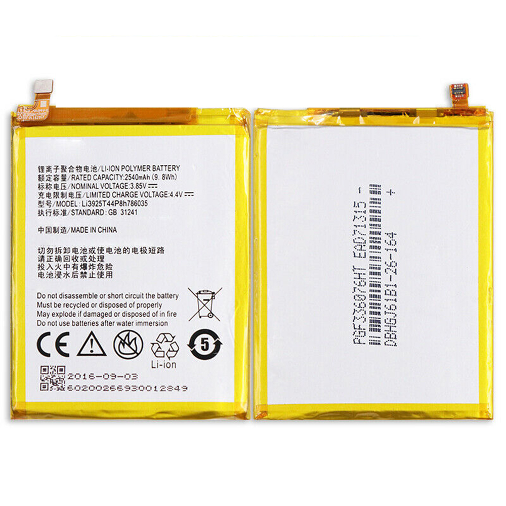 Li3925T44P8h786035 Batterie ordinateur portable
