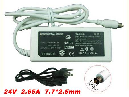 M9388X/A 100--240V,1.5A,50-60Hz 24v,2.65A,65Watt adapter