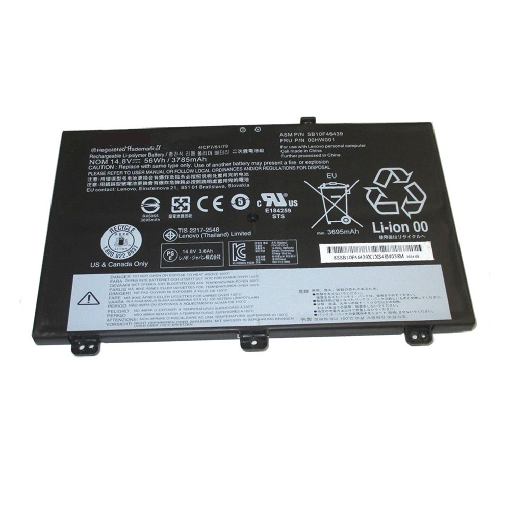 SB10F46439 Batterie ordinateur portable