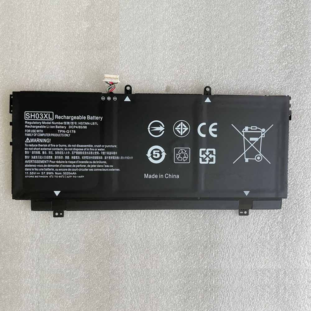 SH03XL pc batterie