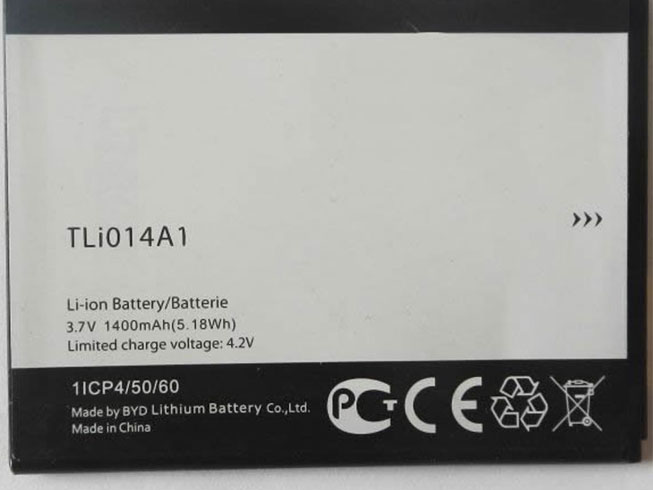 TLi014A1 pc batterie