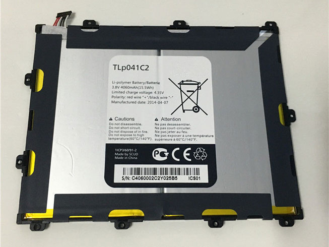 TLp041C2 Batterie ordinateur portable