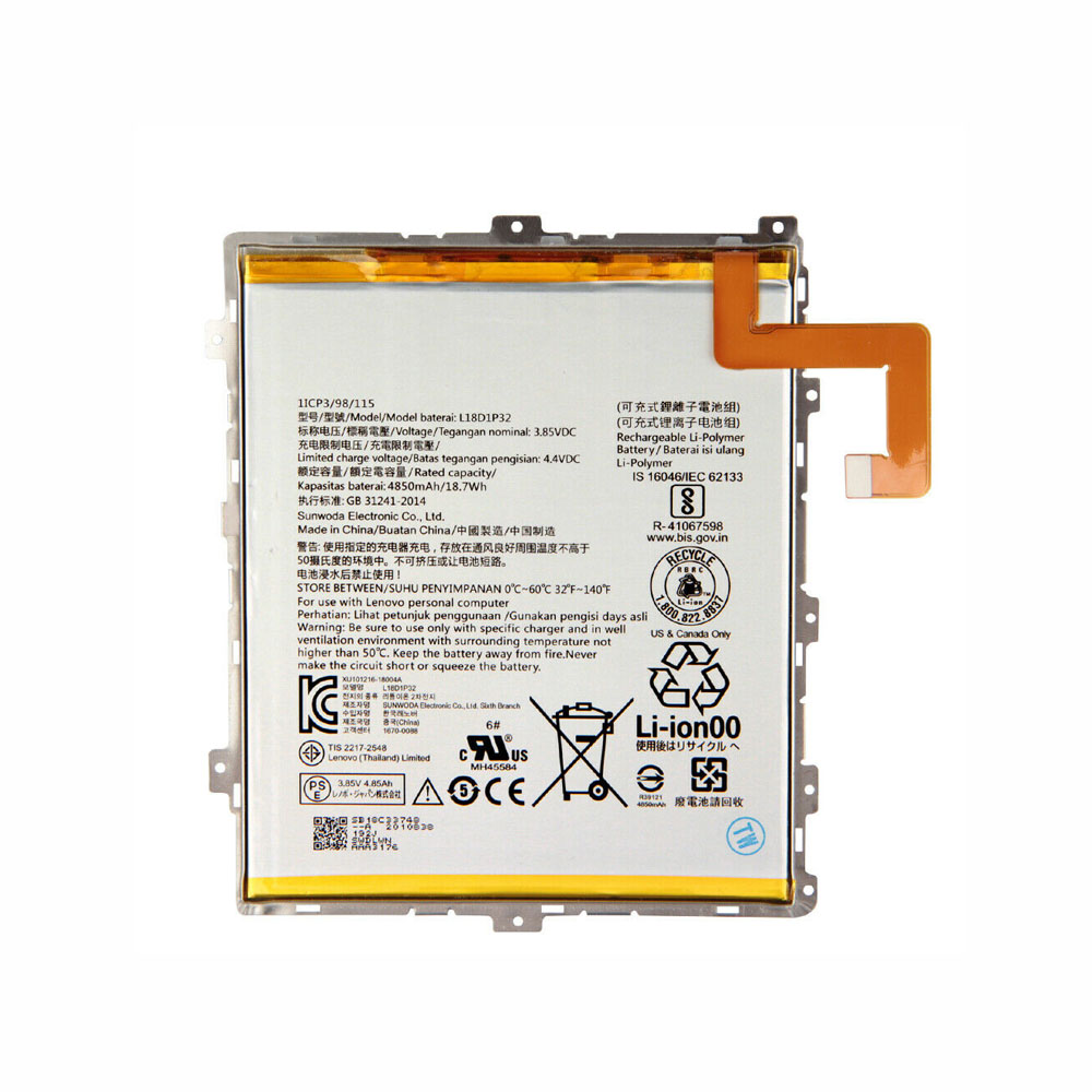 L18D1P32 Batterie ordinateur portable