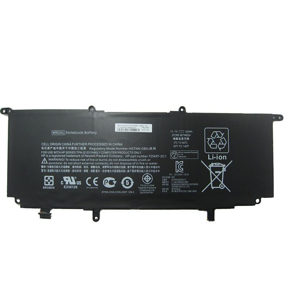WR03XL Batterie ordinateur portable